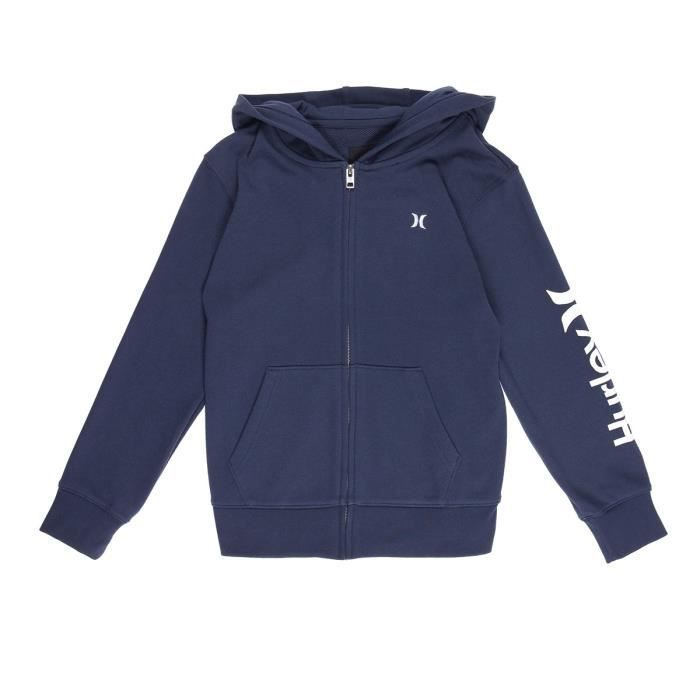 HURLEY Sweat à Capuche Hoodie One And Only - Enfant Mixte - Bleu