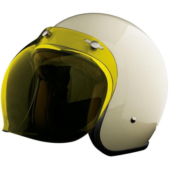 STORMER Écran bubble jaune pour casque pearl