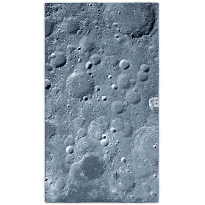 LEUS Serviette plage 148x84cm LUNAR BLACK
