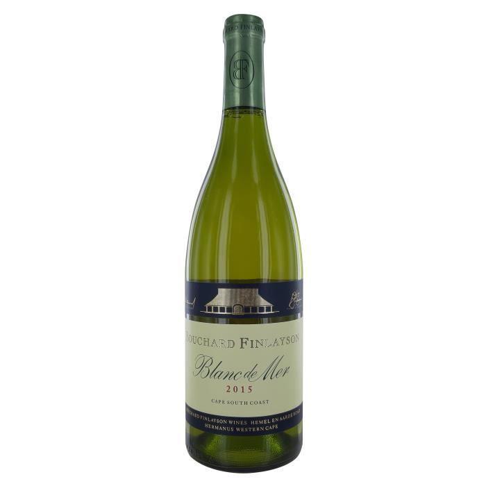 Bouchard Finlayson 2015 Blanc de mer - Vin Blanc d'Afrique du Sud