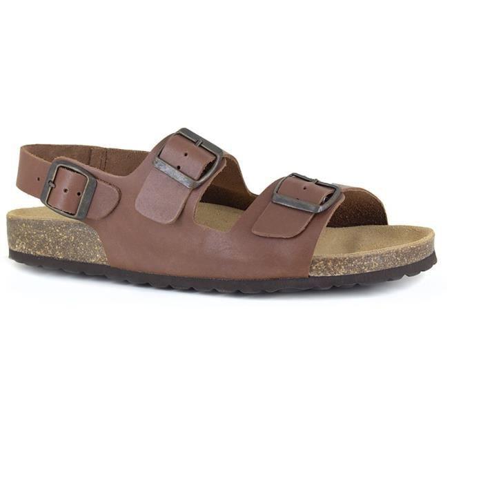 J.BRADFORD Chaussures Sandales JB-Malou Cognac Homme