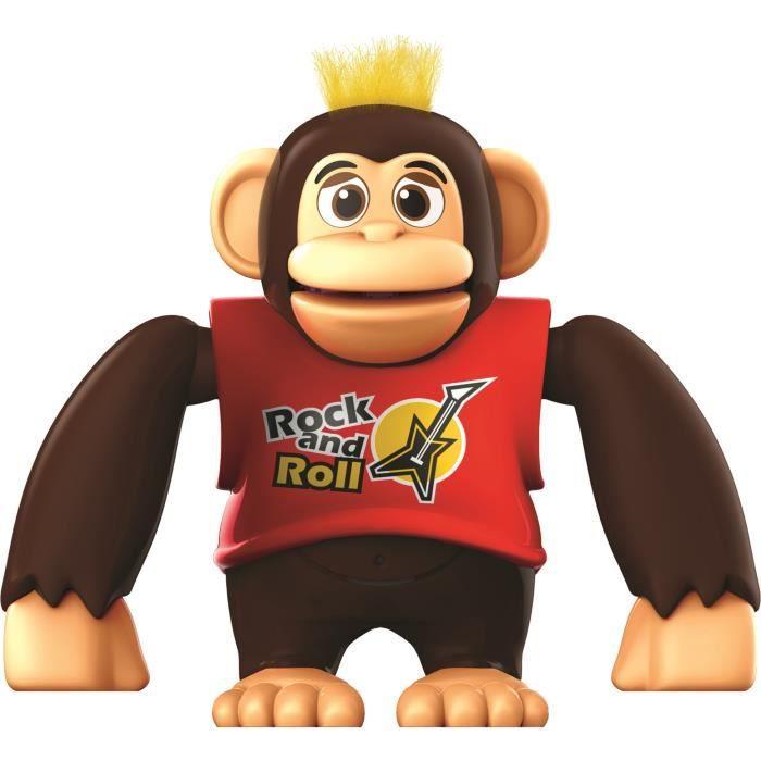 YCOO - Chimpy le Singe - 15 CM - Rouge