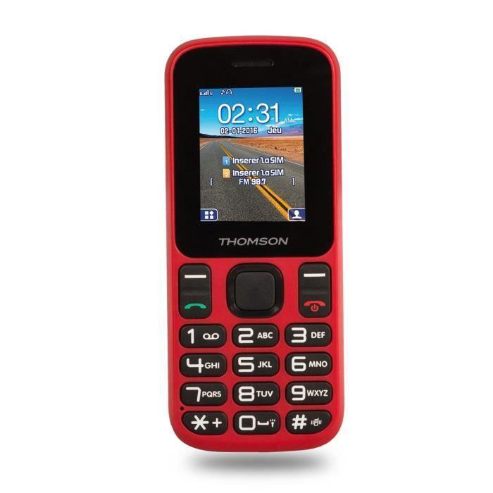 THOMSON TLINK12 GSM Rouge