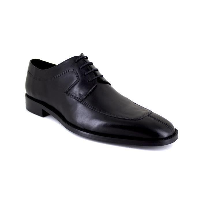 J.BRADFORD Derby JB-DOUGL4 Chaussure Homme Noir