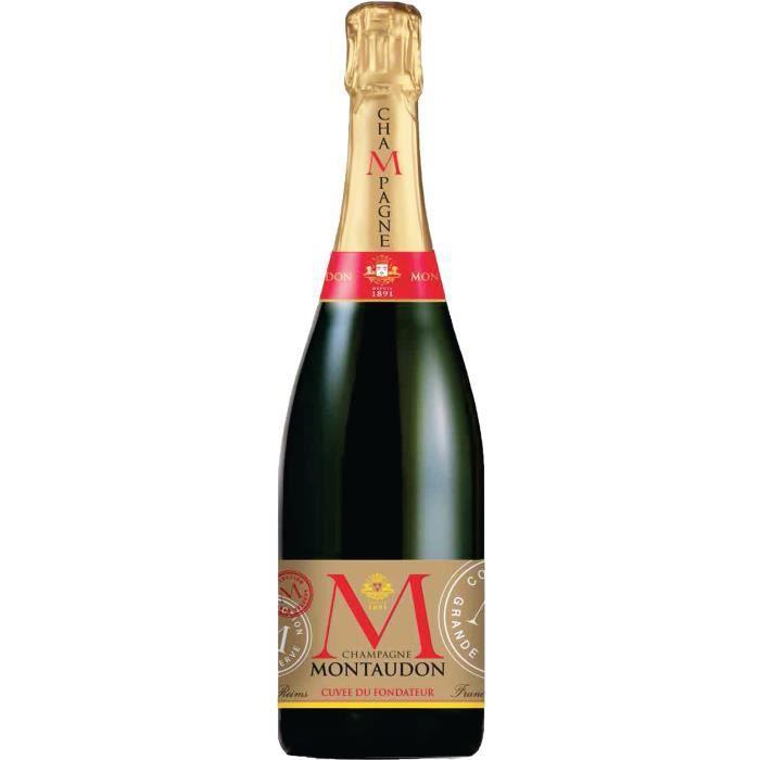Champagne Montaudon Cuvée du Fondateur Brut - 75 cl