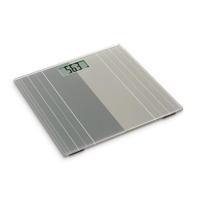 OGO Pèse-Personne Electronique Plateau en Verre Hercule 180kg/100g