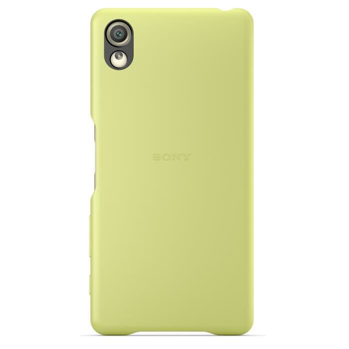 Sony Back Cover Jaune pour Xperia X Jaune