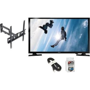 Pack Samsung UE40J5000 TV LED Edge 100cm + Support TV + Câble HDMI 1,5m + Pack 100 lingettes