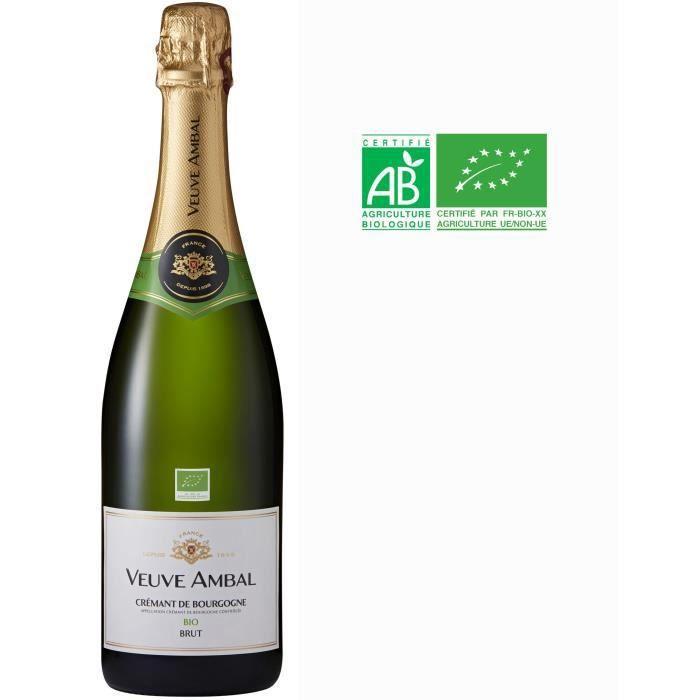 Veuve Ambal Cuvée Nature Bio - Crémant de Bourgogne