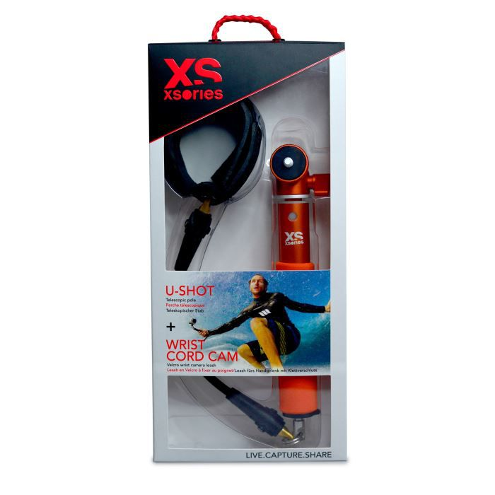 XSories Pack spécial U-Shot + Cord Cam