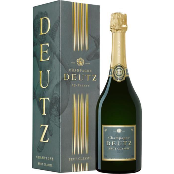Champagne Deutz Classic Brut avec étui - 75 cl