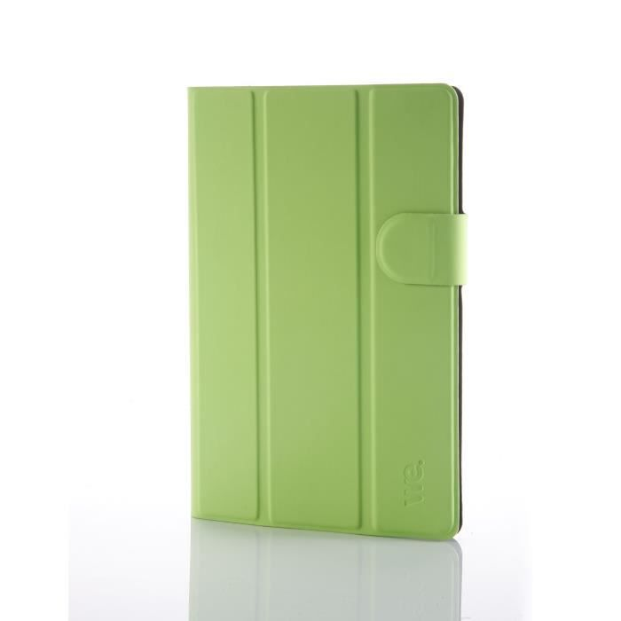 WE Etui Universel Tablettes 7'' Tpu 4 Attaches En Silicone Ajustables - Vert