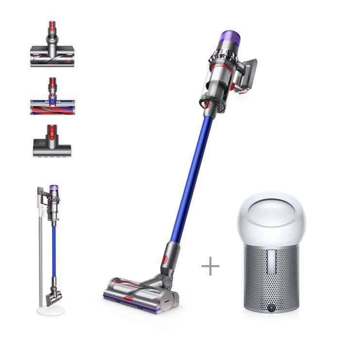 DYSON V11 ABSOLUTE EXTRA PRO + Ventilateur / Purificateur d'air - Pure Cool Me - Blanc/Argent