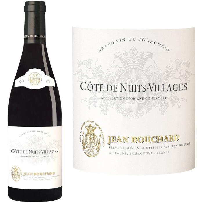 Jean Bouchard 2011 Côtes Nuits Villages - Vin rouge de Bourgogne
