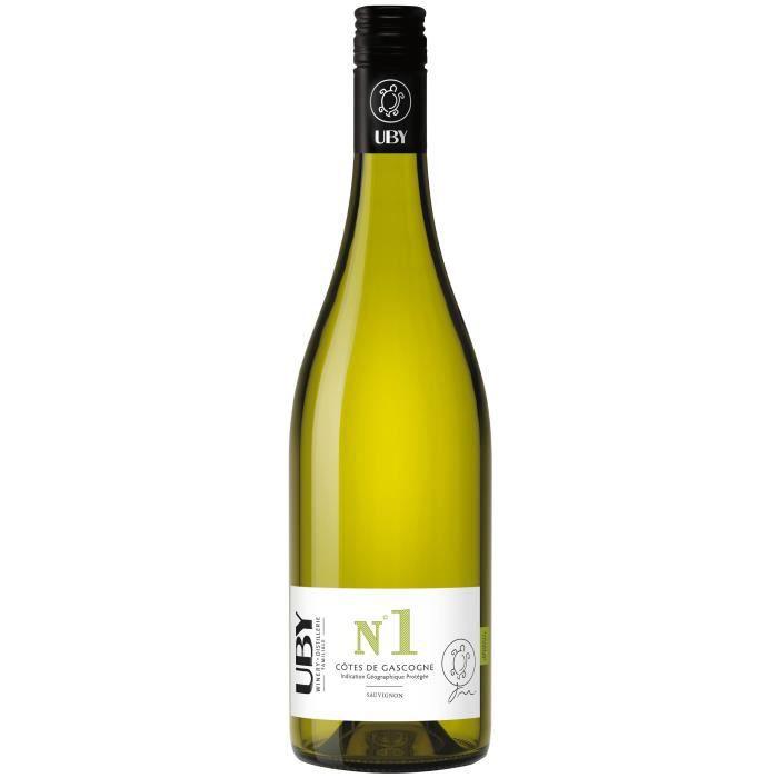 UBY N°1 Côtes de Gascogne Sauvignon Gros Manseng Vin Blanc