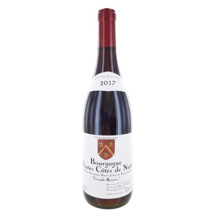 Hautes-Côtes de Nuits 2017 Grande Réserve - Vin rouge de Bourgogne