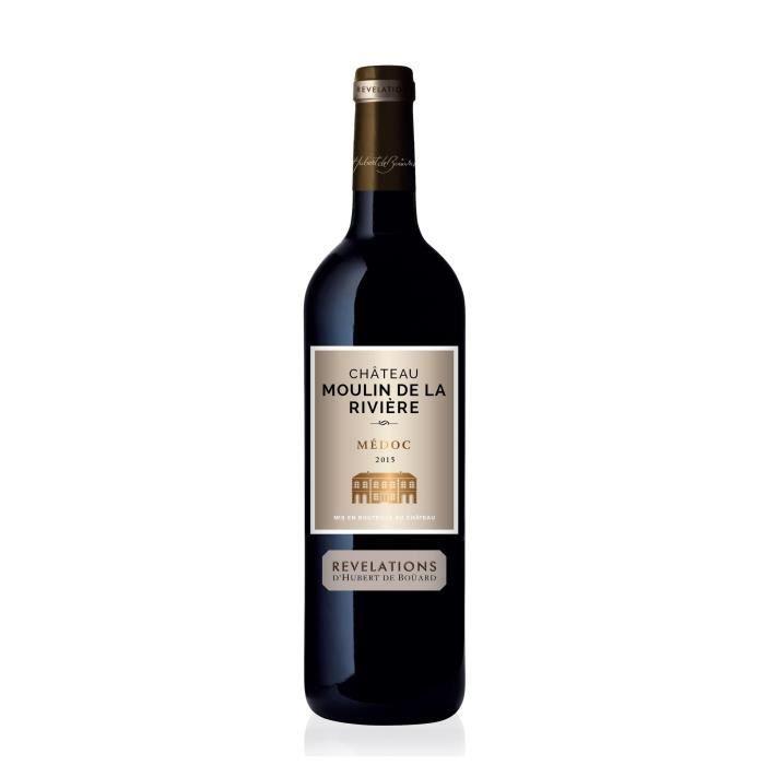 Château Moulin de la Rivière 2015 Médoc - Vin rouge de Bordeaux