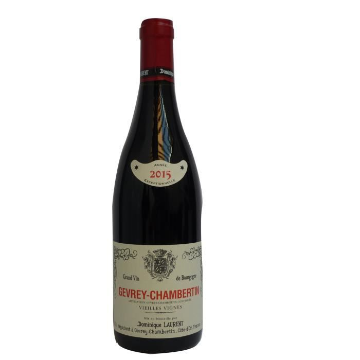 Dominique Laurent Vieilles Vignes 2015 Gevrey Chambertin – Vin Rouge de Bourgogne