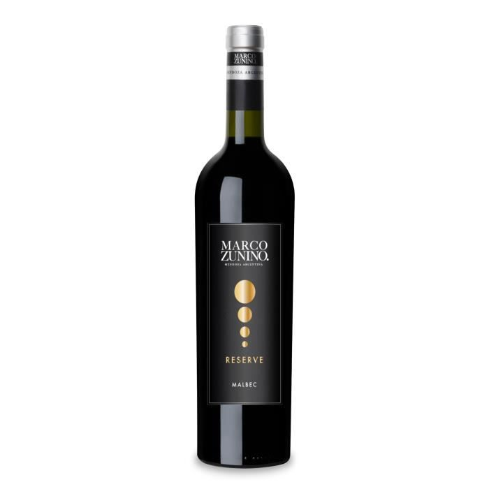 Marco Zunino Malbec Reserve 2015 - Vin Rouge d'Argentine