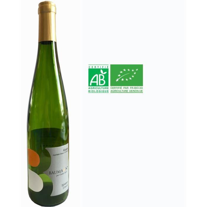 DOMAINE BAUMANN 2016 Sylvaner Classiq Vin d'Alsace - Blanc - 75 cl - AOC