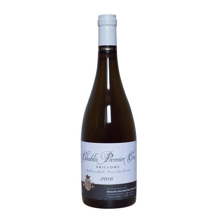 Domaine Jean Dauvissat Père & Fils 2016 Chablis Premier Cru Vaillons - Vin blanc de Bourgogne