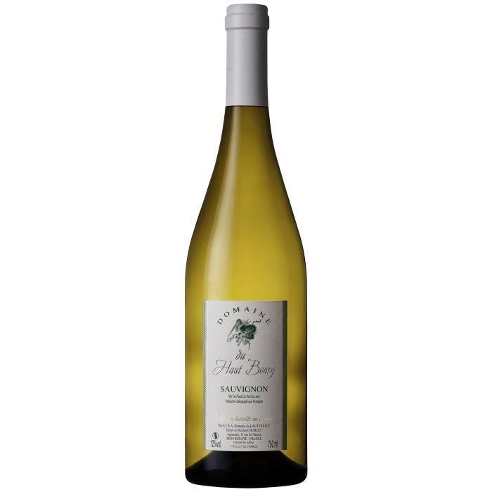Domaine du Haut Bourg Sauvignon - Vin blanc du Vallée de la Loire