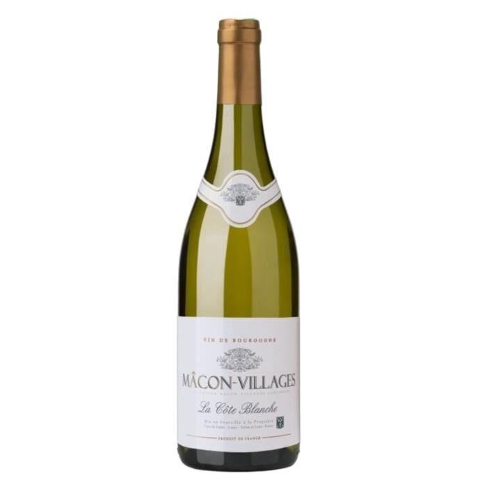 Cave de Lugny Mâcon-Villages - Vin blanc de Bourgogne