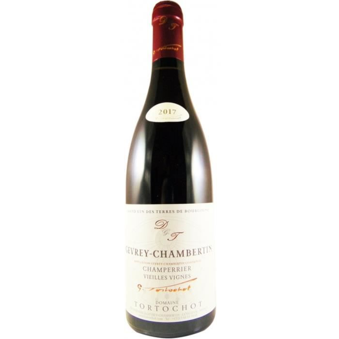 Domaine Tortochot Champerrier Vieilles Vignes 2017 Gevrey Chambertin - Vin rouge de Bourgogne