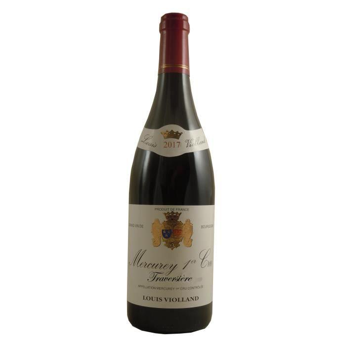 Louis Violland Traversière 2017 Mercurey 1er Cru - Vin rouge de Bourgogne
