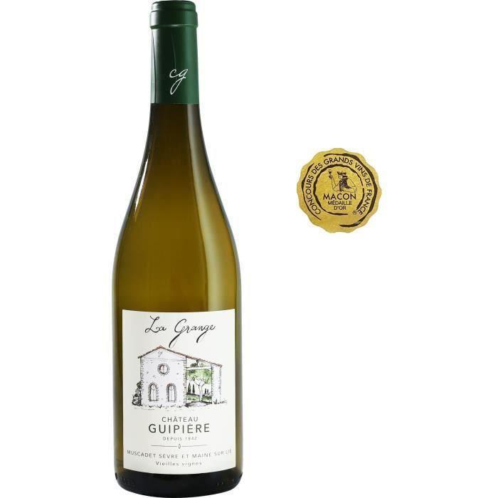 Château Guipière La Grange 2018 Muscadet Sèvre et Maine sur Lie - Vin blanc de Loire