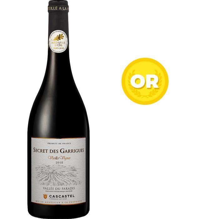 Secret des Garrigues Vieilles Vignes 2018 Vallée du Paradis - Vin rouge de Languedoc