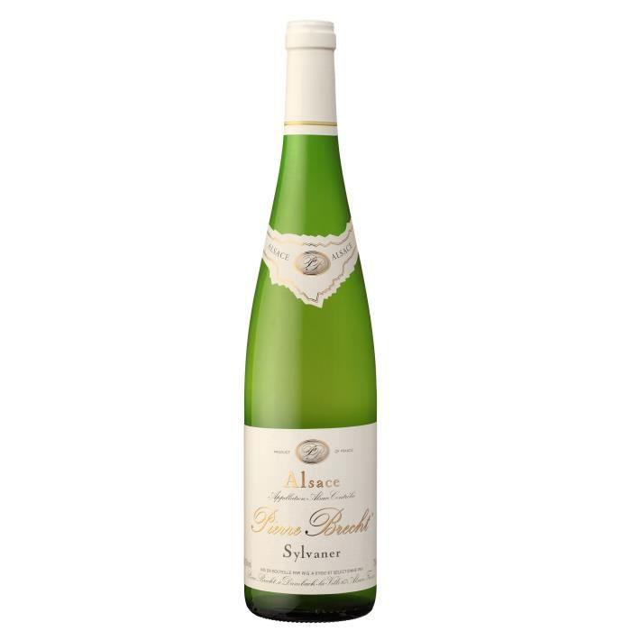 Pierre Brecht 2019 Sylvaner - Vin blanc d'Alsace