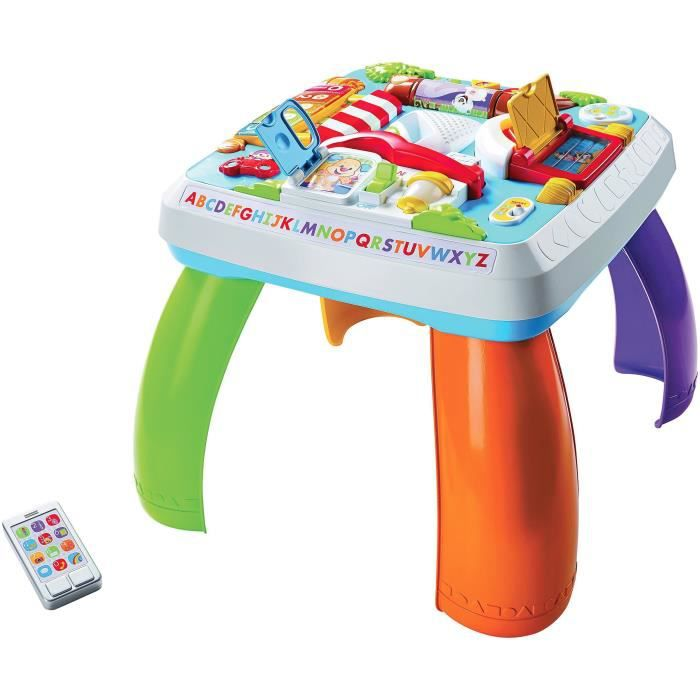 FISHER PRICE - Table d'éveil Progressif - Bilingue