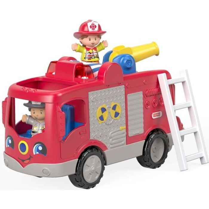 FISHER-PRICE Little People Le Camion de Pompier - de 12 mois à 5 ans