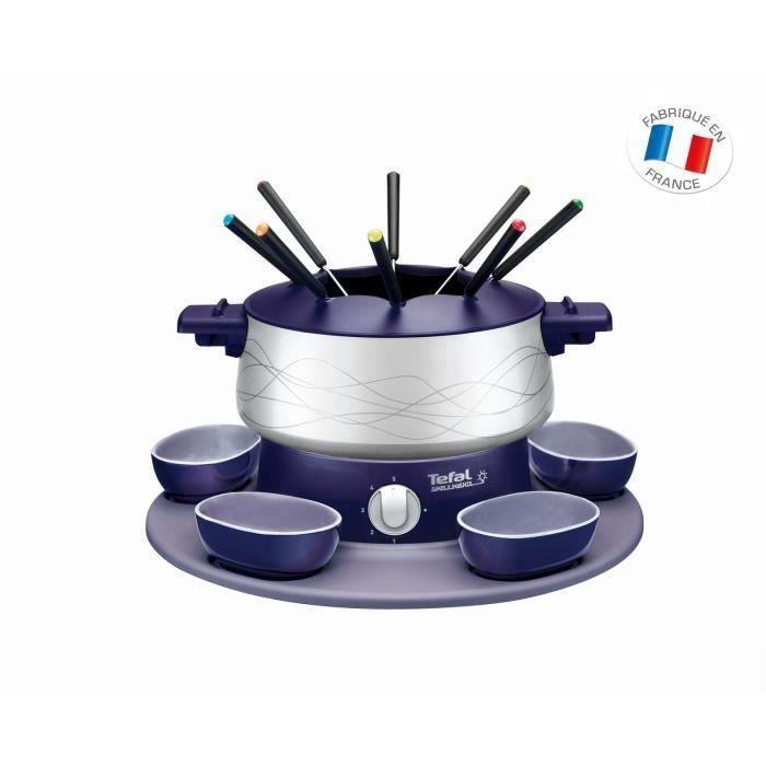 TEFAL EF351412 Appareil à fondue électrique Simply Invents - Bleu