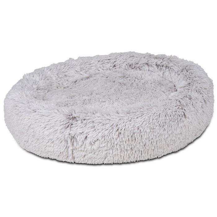 VADIGRAN Donut Harry - Ø80x20 cm - Beige, brun et gris - Pour chien
