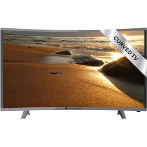 CONTINENTAL EDISON TV UHD Curved 140cm (55??)