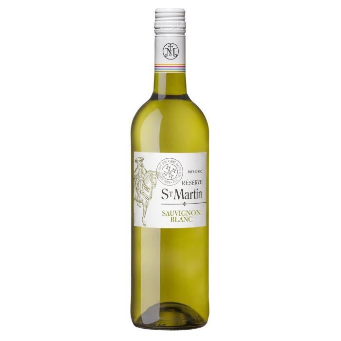 Réserve Saint-Martin 2020 Sauvignon IGP Pays d'Oc - Vin blanc de Languedoc