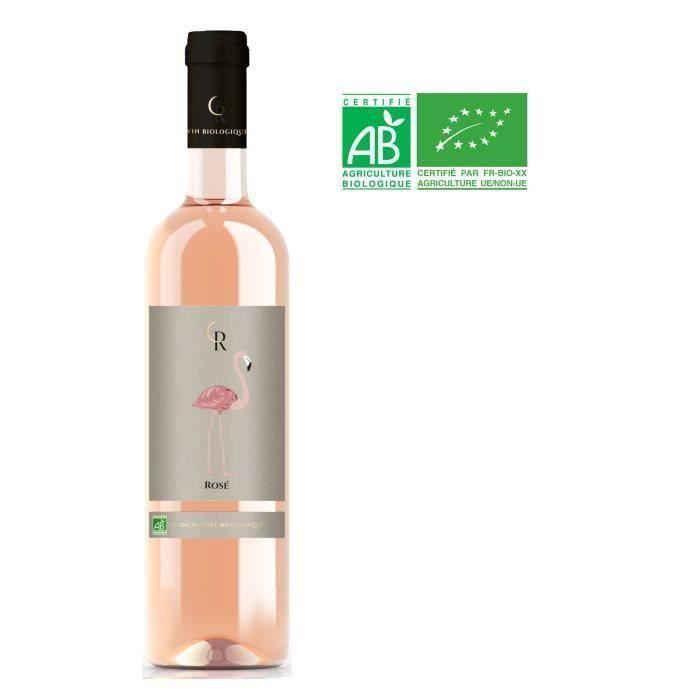 Flamant Rosé Vin de France - Vin rosé Bio