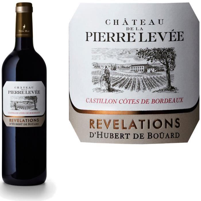 Château De La Pierre Levée 2016 Castillon - Vin rouge de Bordeaux