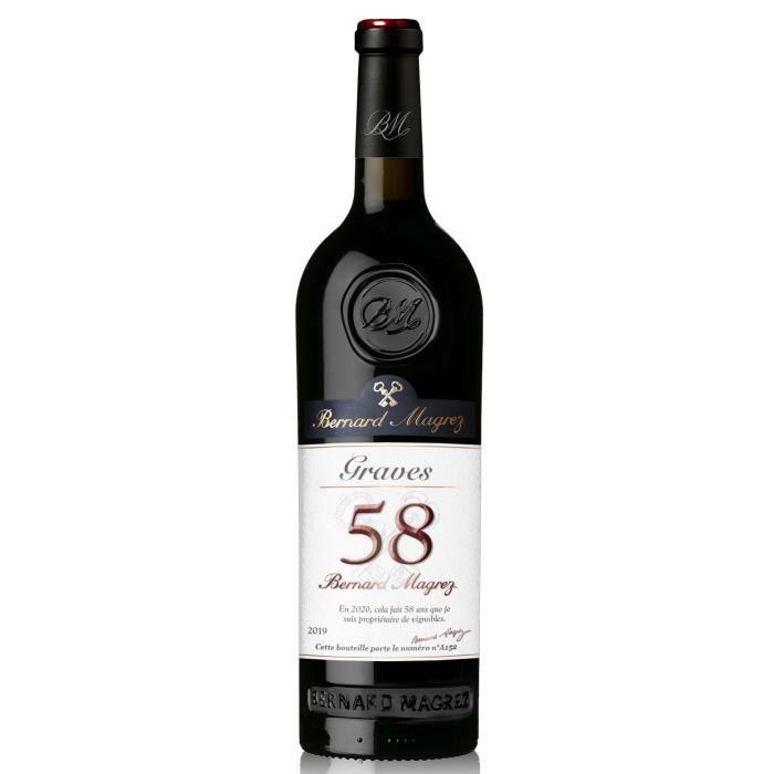 Bernard Magrez 58 2019 AOP Graves - Vin rouge de Graves