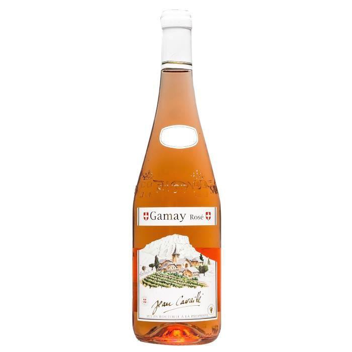 Maison Cavaillé Village Gamay rosé - Vin Rosé de Savoie