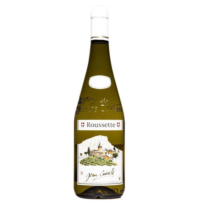 Maison Cavaillé 2018 Roussette Village - Vin Blanc de Savoie