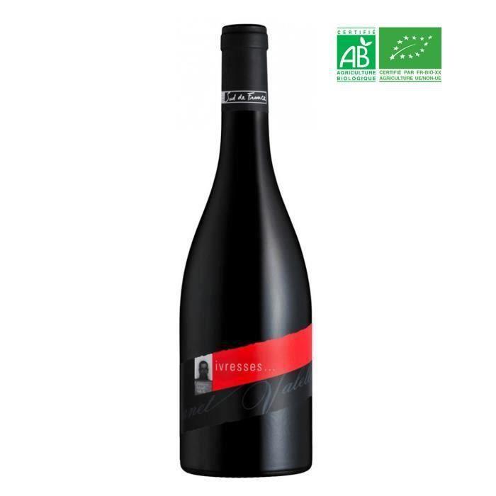 Domaine Canet Valette Cuvée Ivresse 2016 Saint-Chinian - Vin rouge du Languedoc-Roussillon - Bio