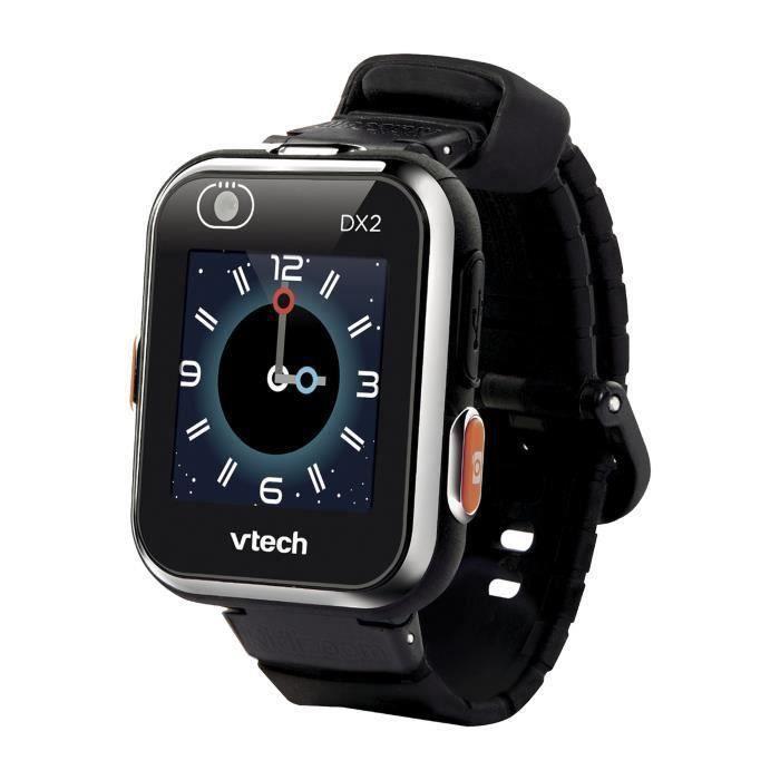 VTECH - Kidizoom Smartwatch Connect DX2 Noire - Montre Photos et Vidéos