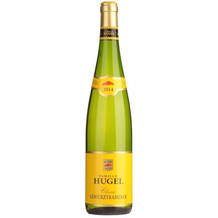 Famille Hugel 2014 Gewurztraminer - Vin blanc d'Alsace