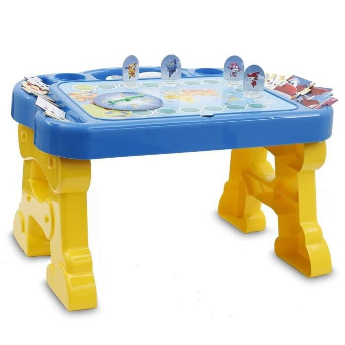 SUPER WINGS Table Educative + Stylo Electronique