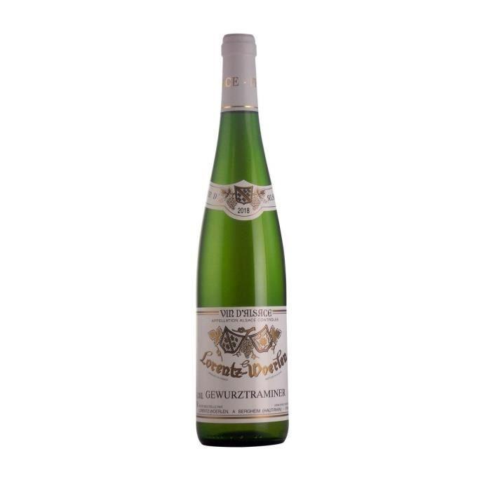 Gustave Lorentz 2018 Gewurztraminer - Vin blanc d'Alsace - Bio