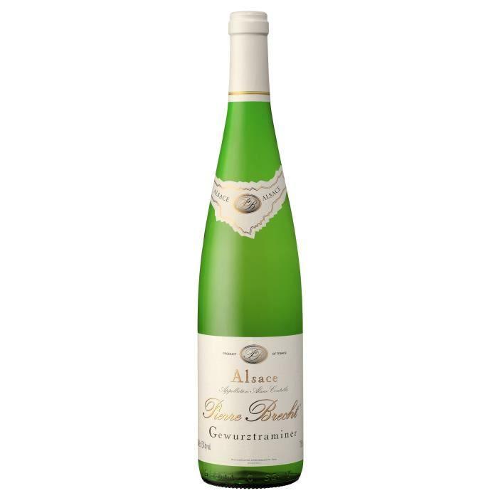 Pierre Brecht 2019 Gewurstraminer - Vin blanc d'Alsace