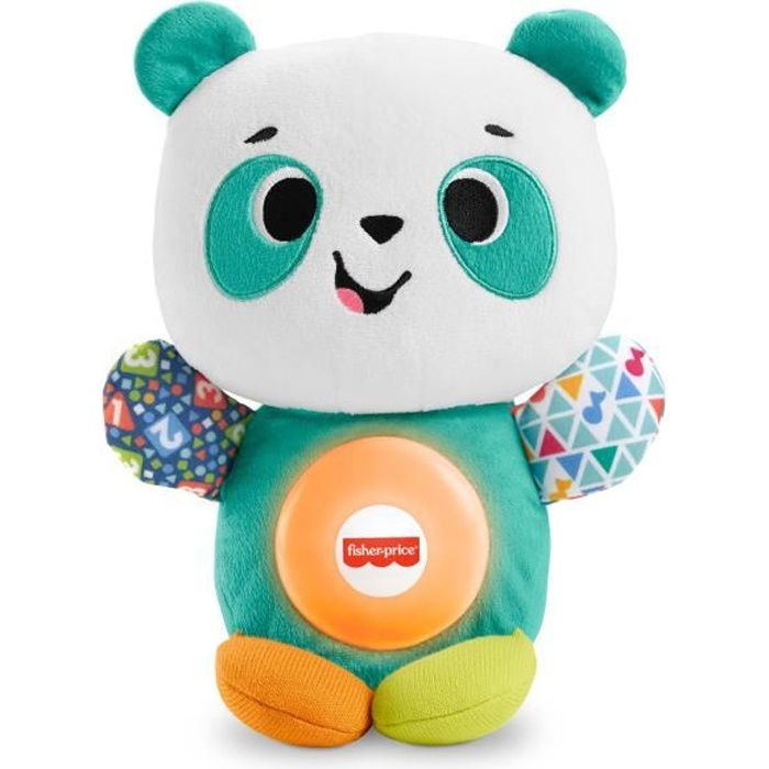 FISHER-PRICE Linkimals Andréa le Panda - 9 mois et +